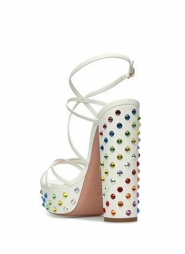 Aquazzura Sandalet Beyaz